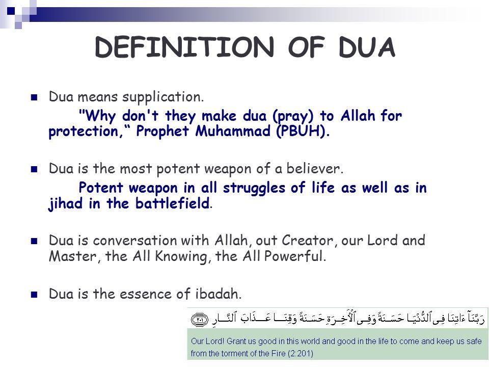 duas of the prophets pdf