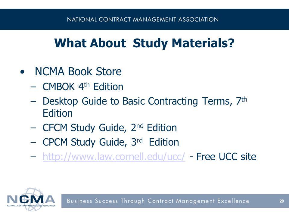 CFCM - National Contract Management Association