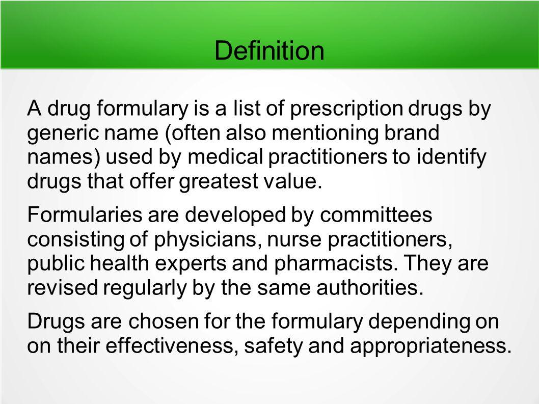 DRUG FORMULARY. - ppt video online download