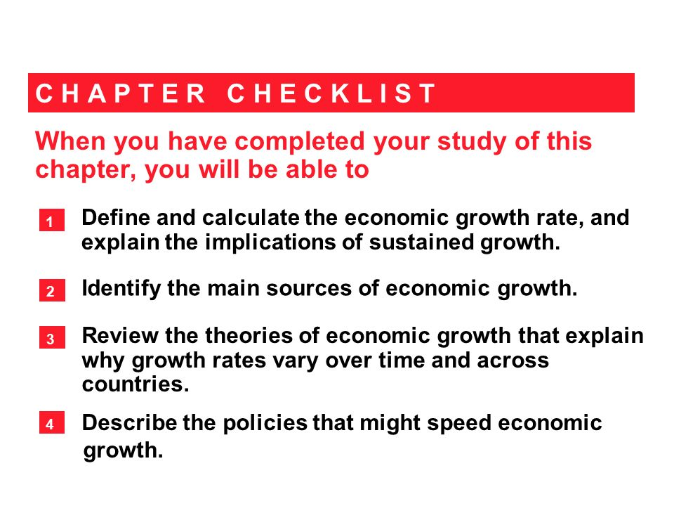 seven major sources of economic growth Chapter 7 sources of economic growth and on the sources of economic growth in egypt was the main driving force behind economic growth.