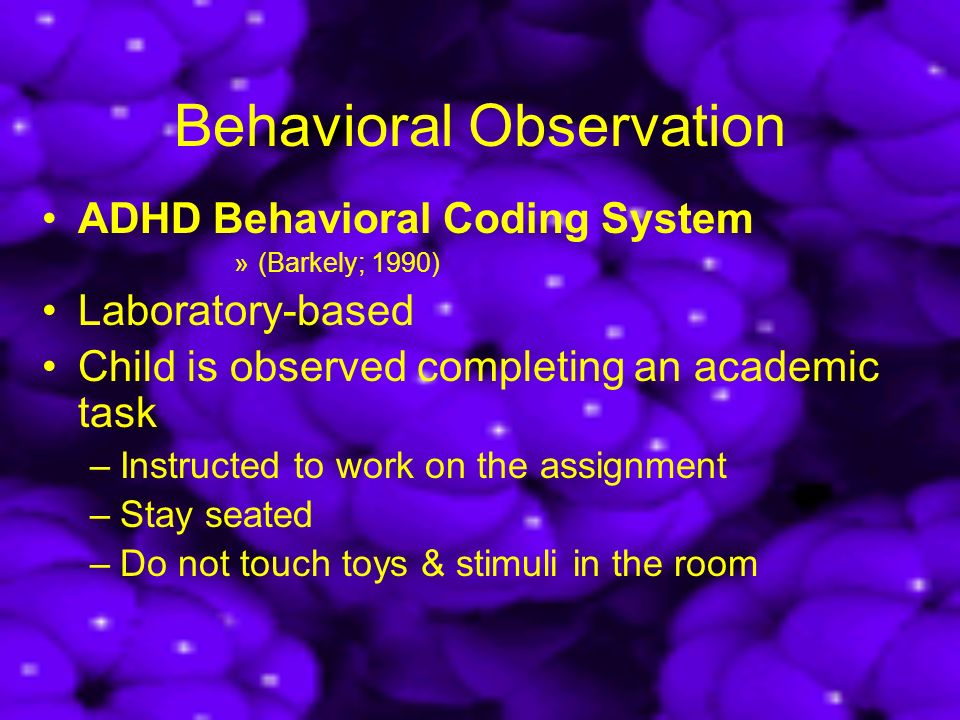 an introduction to observing a childs behavior Observation & assessment report example-child a  in response to this behavior, child a and his mother attended a therapy session according to.