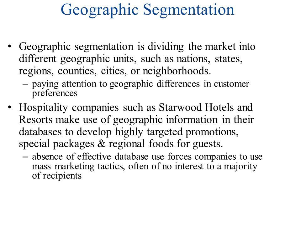 adidas geographic segmentation