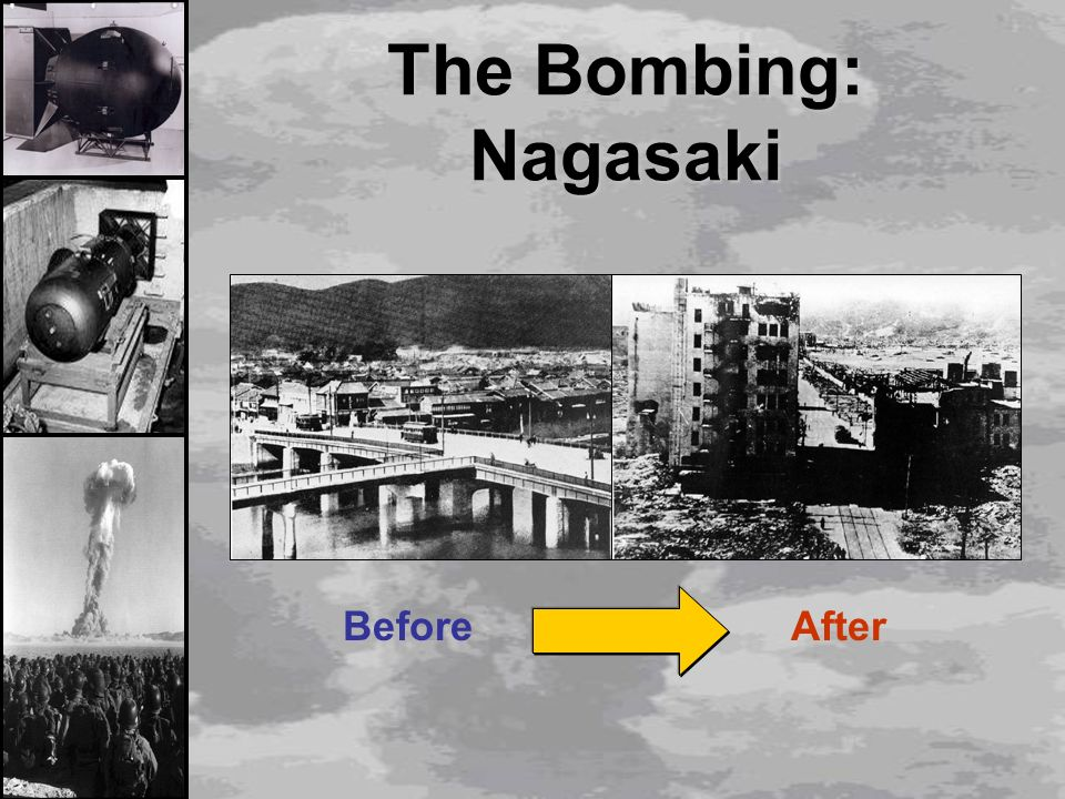 When the atomic bomb went off over Hiroshima