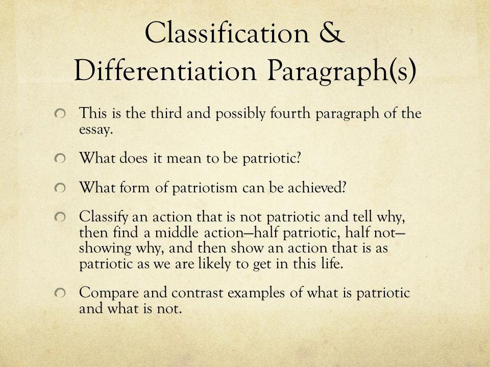 the definition essay ppt 15 classification