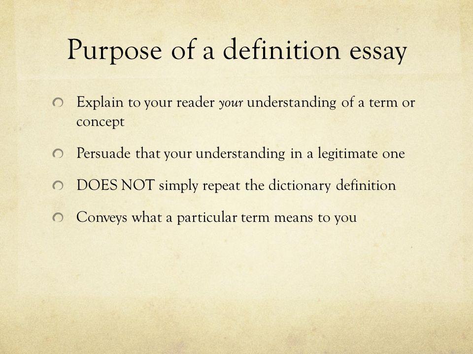Purpose in life essay