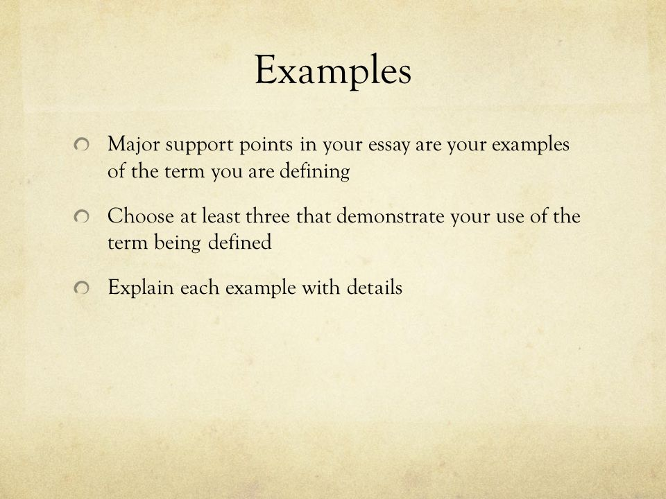 the definition essay ppt  9 examples