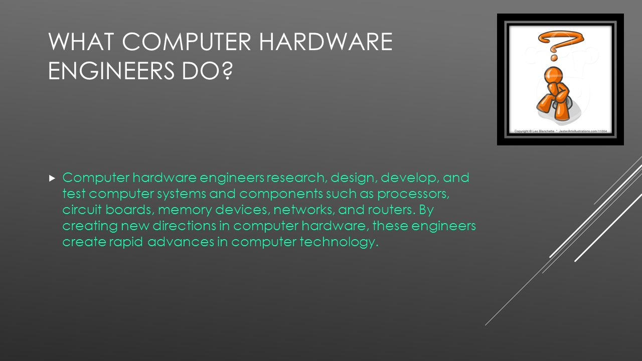 what does a computer hardware engineer do