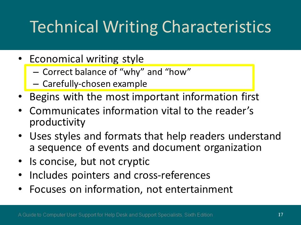 technical writing style guide pdf