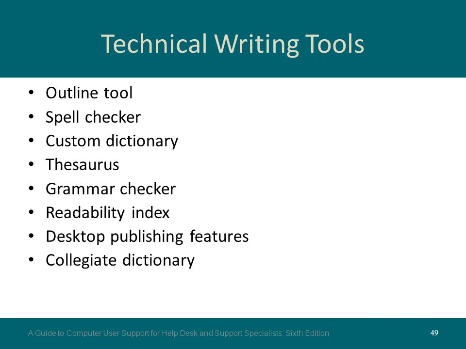 guidelines for technical writing Dl urban 1 9/12/12 guidelines for technical writing the imrad style much of the technical writing you will do will be in the style of a journal article.