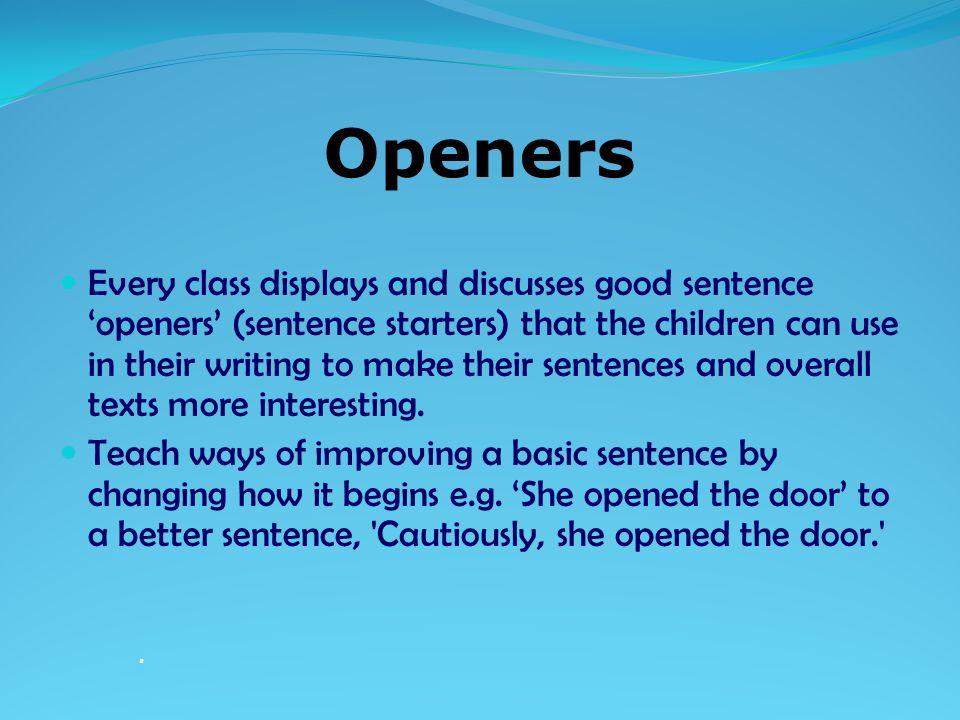 interesting beginnings for essays