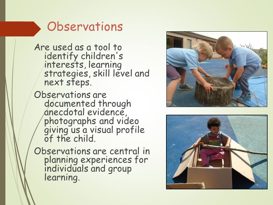 Observation, Assessment and Planning