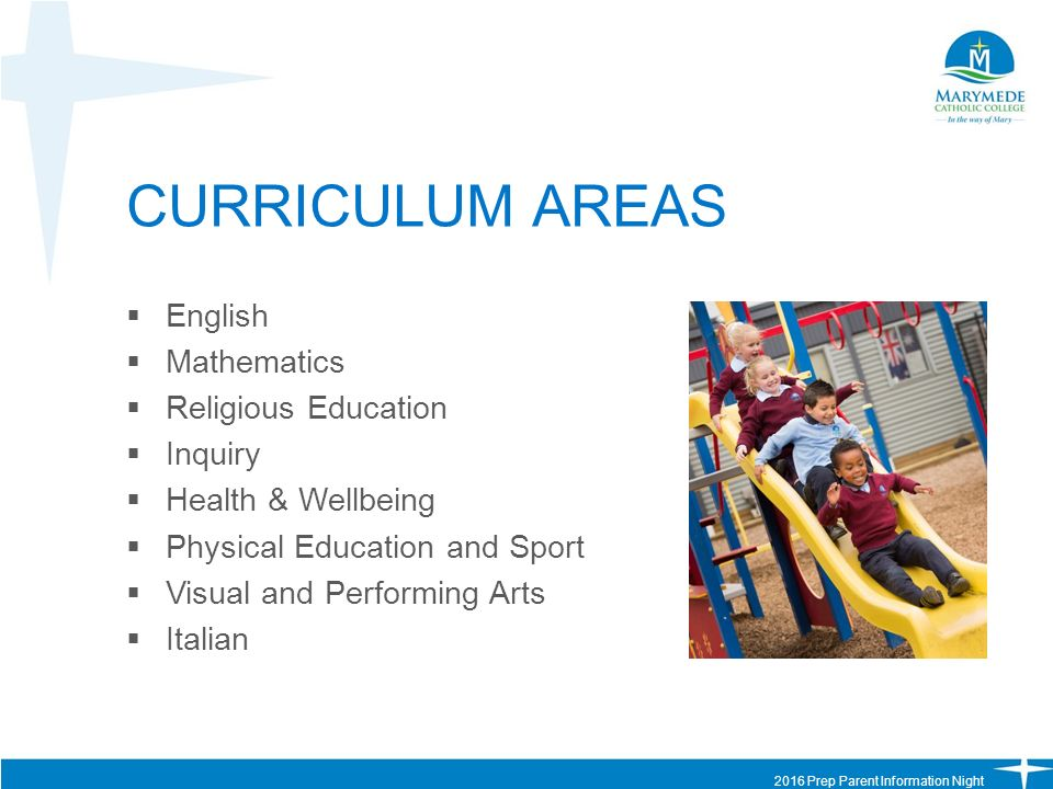 Areas of study in english