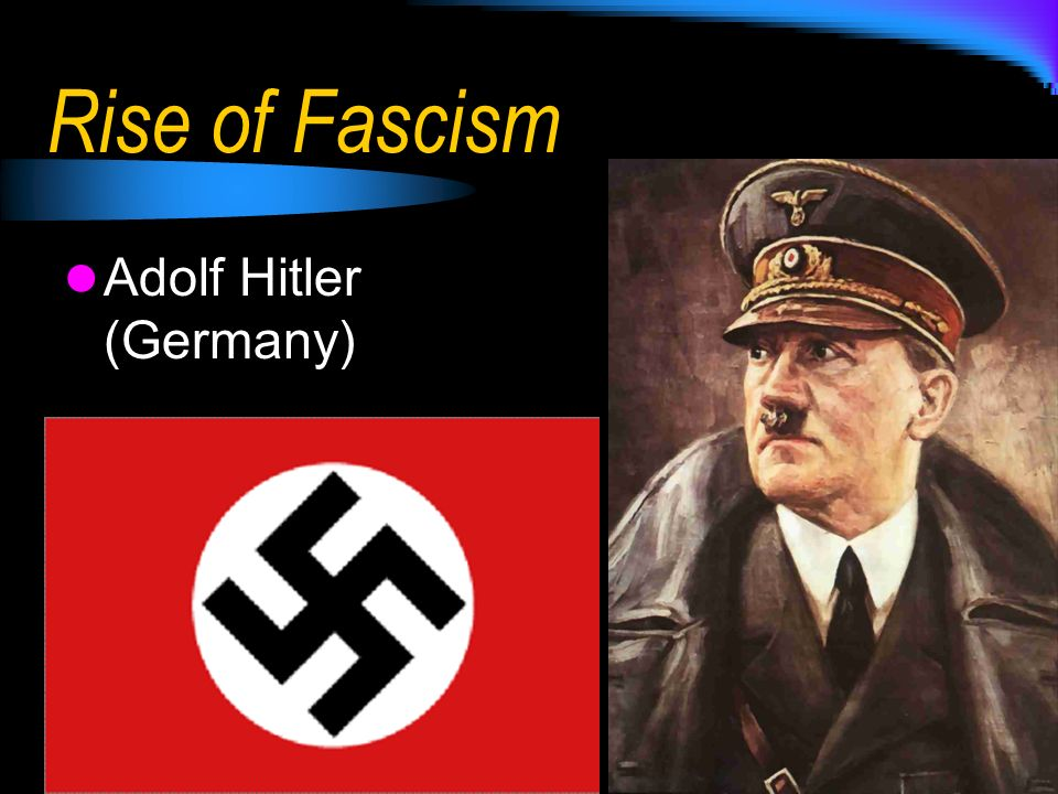 an introduction to the reasons for the fascism in germany Fascism a very short introduction oxford  historians tried to find the reasons why fascism firstly  in germany, the rise of fascism was also a result of.