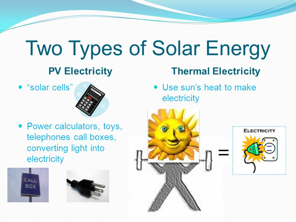 types of solar power choice image