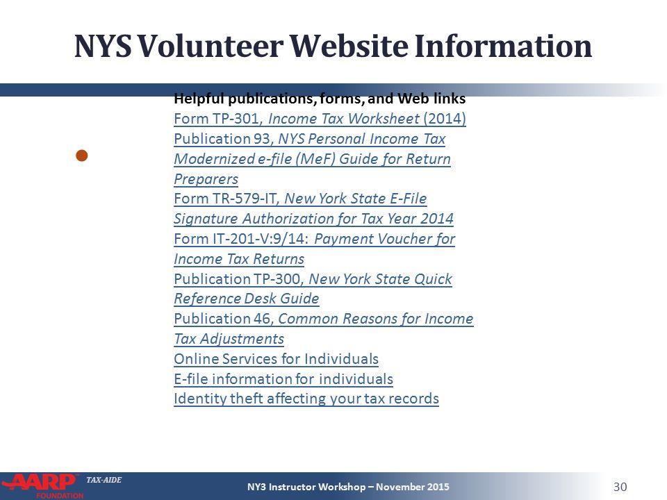 NY3 Instructor Workshop – November ppt download
