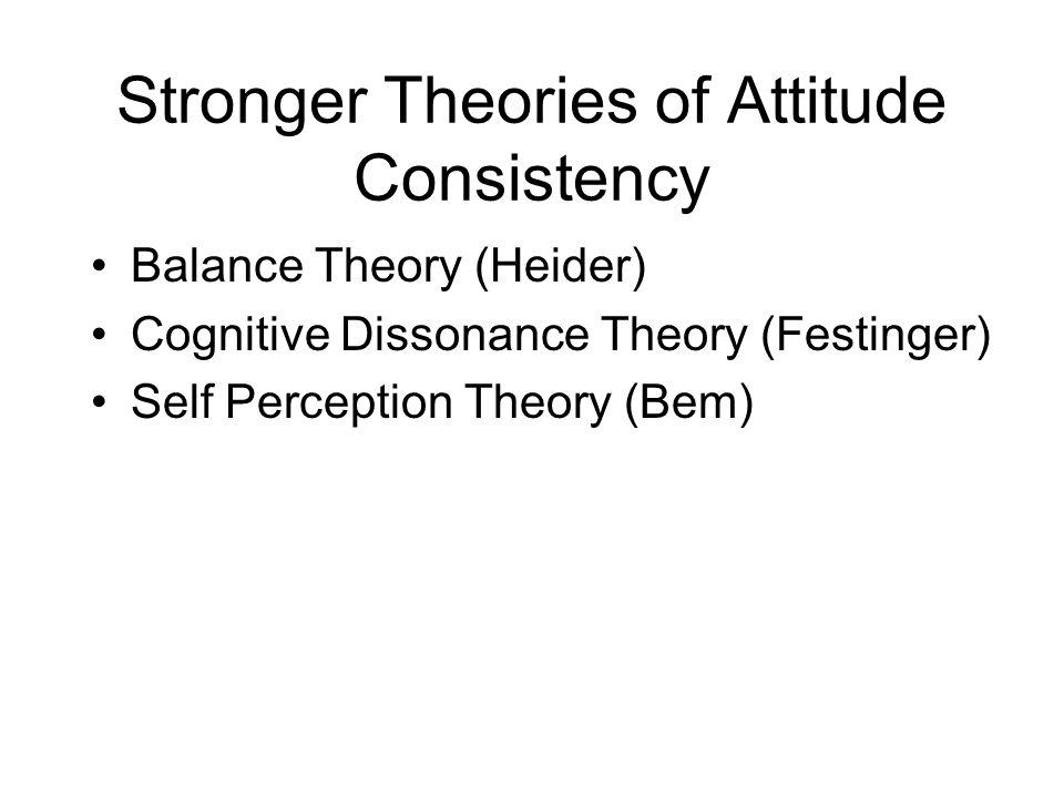 Top 3 Theories of Attitude (With Diagram)