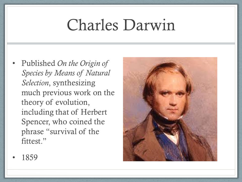 charles darwin and herbert spencer Charles darwin and herbert spencer on the origin of species and principles of biology (illustrated) - kindle edition by charles darwin, herbert spencer.