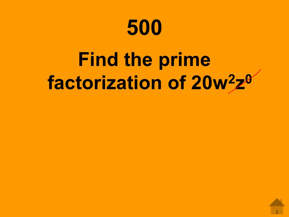 how to find factors of 400