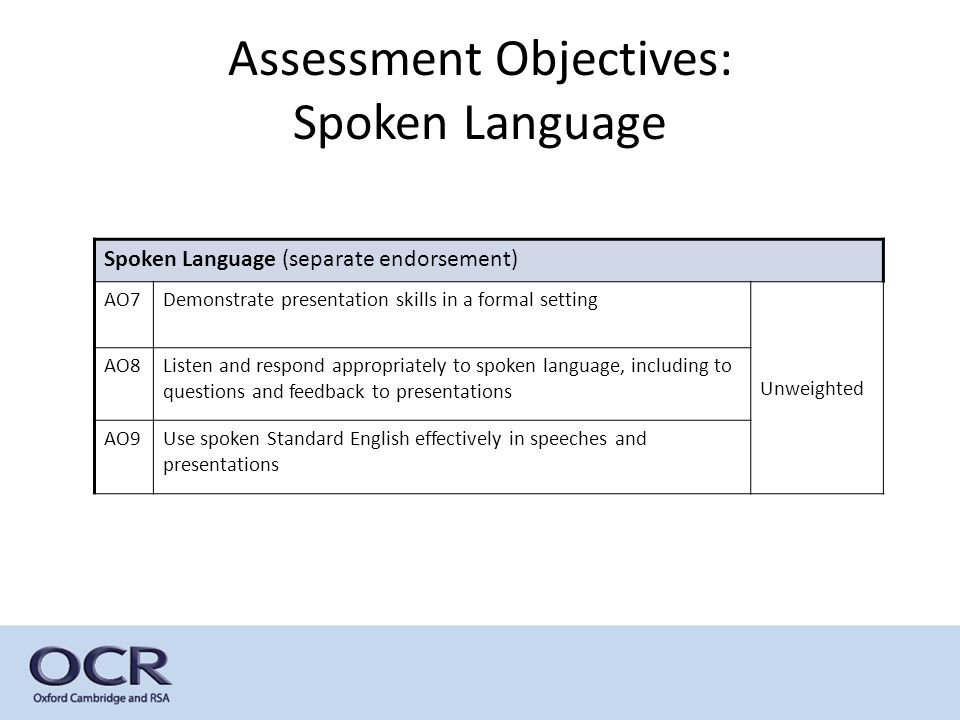 english literature a level coursework assessment objectives (with 9 being the top level) • english literature will be untiered  assessment objectives (aos) ao1: show detailed knowledge of the content of literary texts in the three main forms  4 all questions and coursework assignments worth 25 marks assessment 1 june exam only 2 scale 9-1 (9 highest) 3.