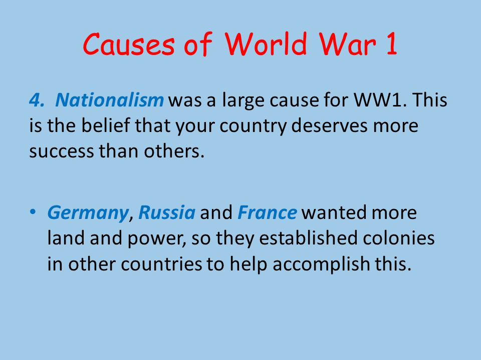World War 1 SS5H4: The students will describe United States involvement in WW1 and post-WW1 ...