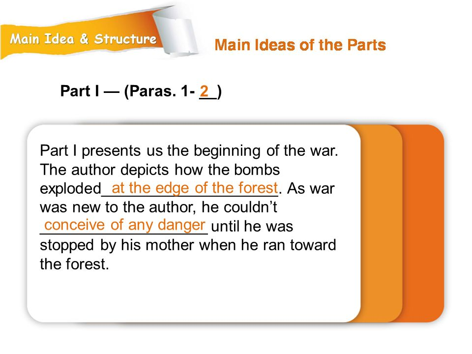 Part I — (Paras. 1- __) 2.