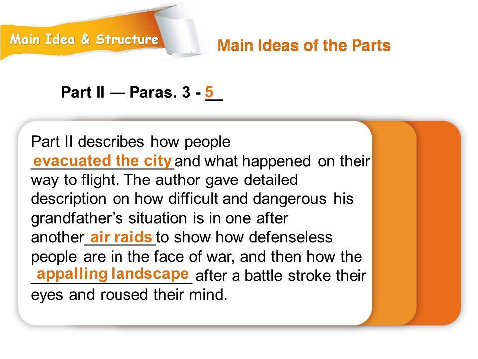 Part II — Paras. 3 - __ 5.