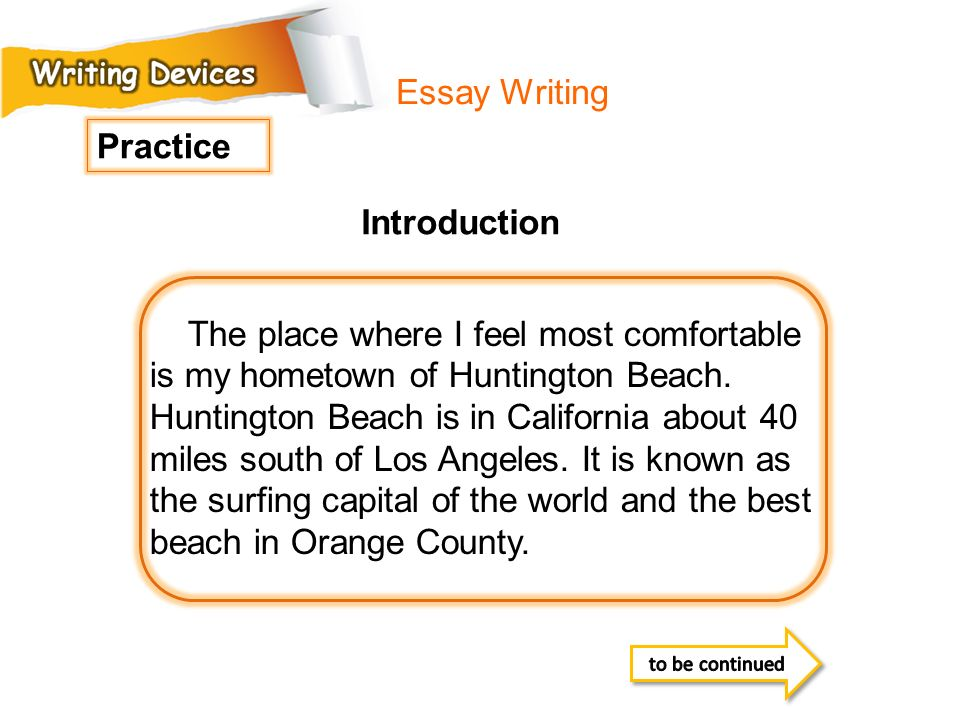 Essay Writing Practice Introduction