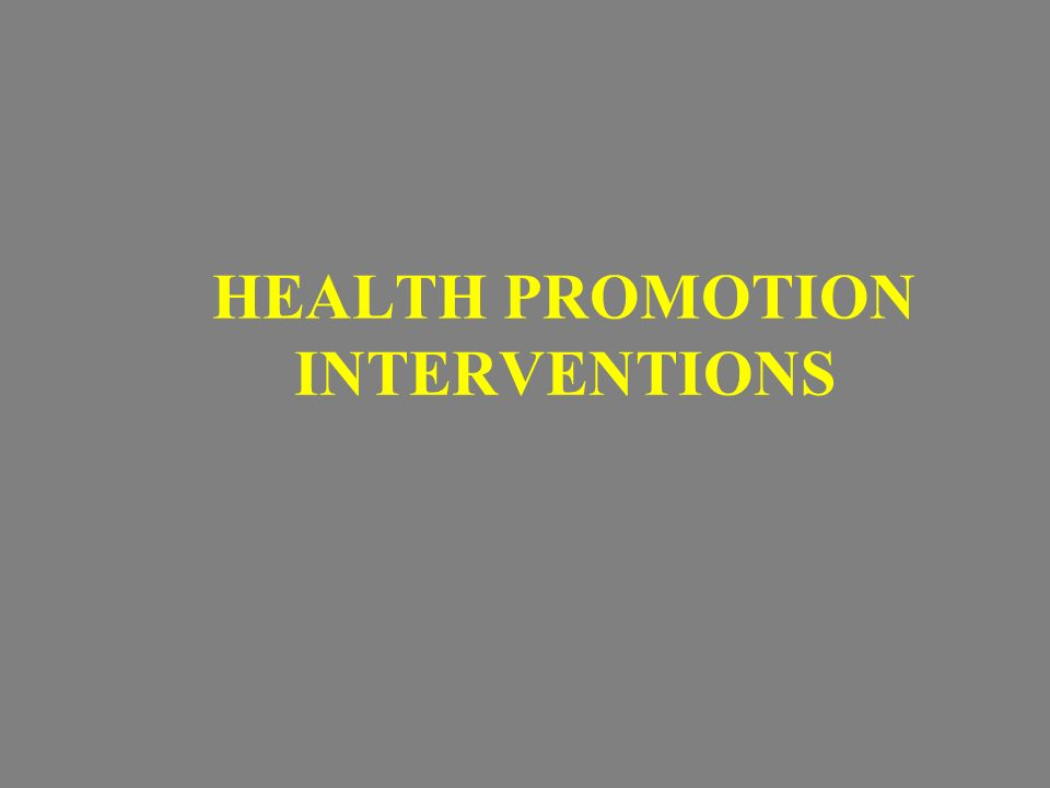 analysis of a health promotion intervention Promotion of breastfeeding intervention trial breastfeeding promotion according to world health organization's baby a secondary analysis of a randomized.