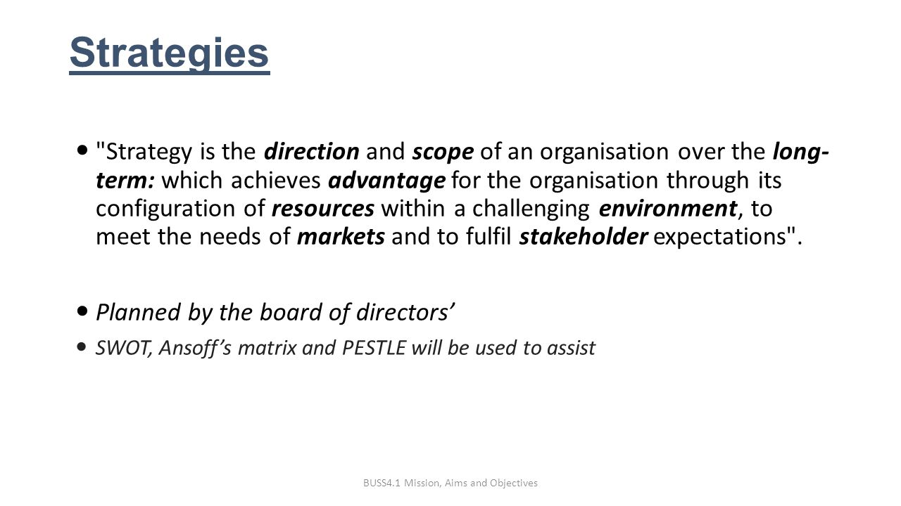 greggs plc strategic aims and objectives Greggs plc strategic aims and objectives the main strategic aim and objective for the nearest period is a dynamic development of the bank and achievement of a qualitatively new level with the standards of the basel committee on banking supervision the development strategy of the bank is based on the components, which together will ensure.
