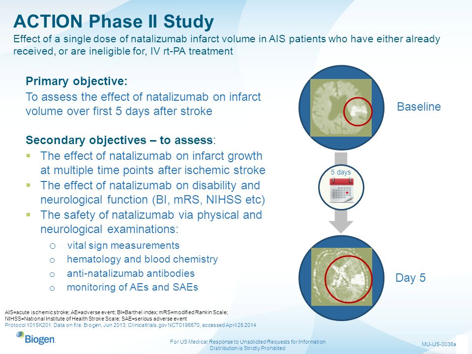 ACTION Phase II Study Primary objective: