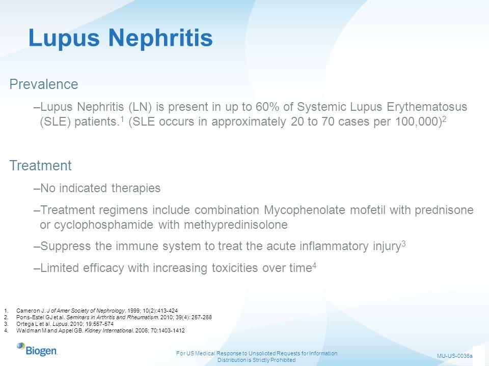 Lupus Nephritis Prevalence Treatment