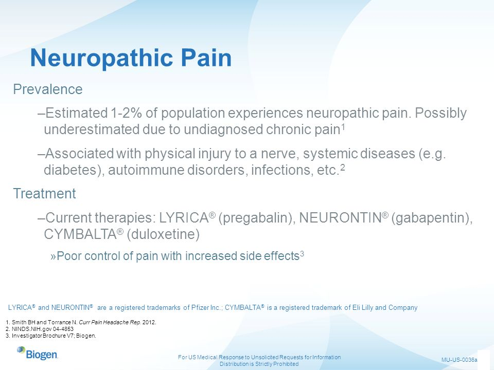 Neuropathic Pain Prevalence