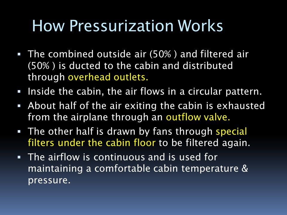Lecture 7 Why Aircraft Needs To Be Pressurized Ppt
