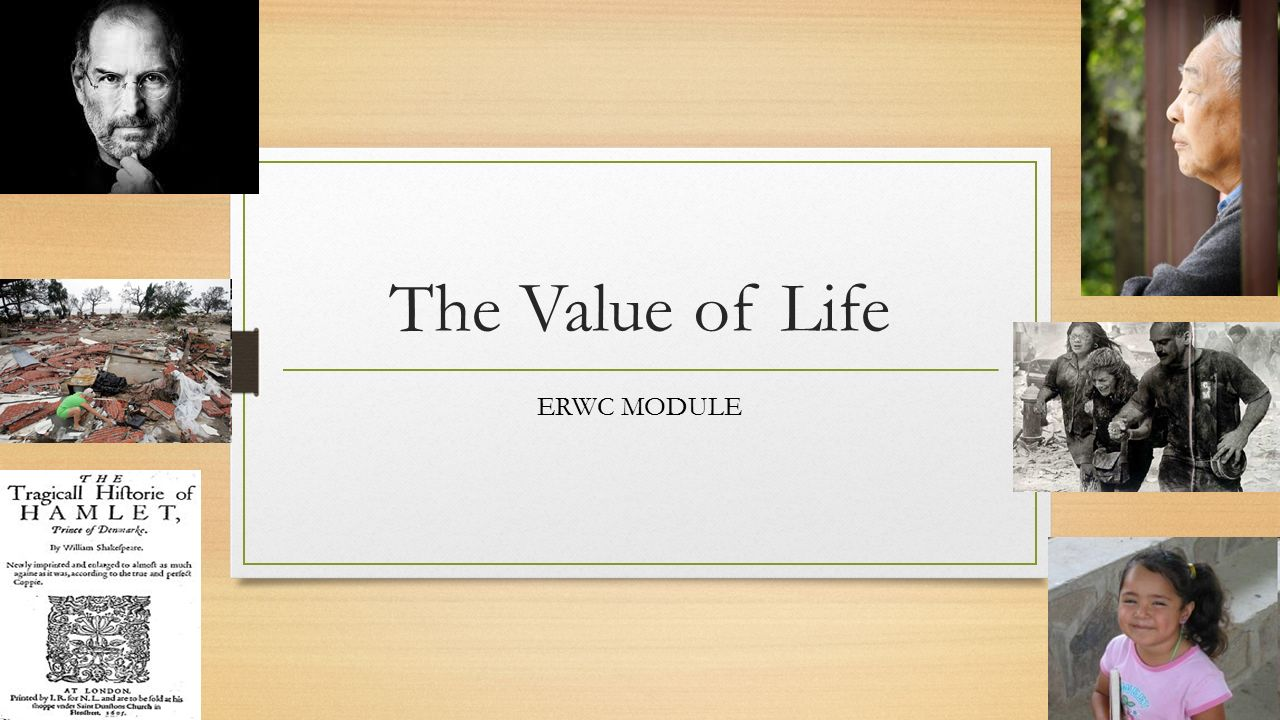 the value of a life essay