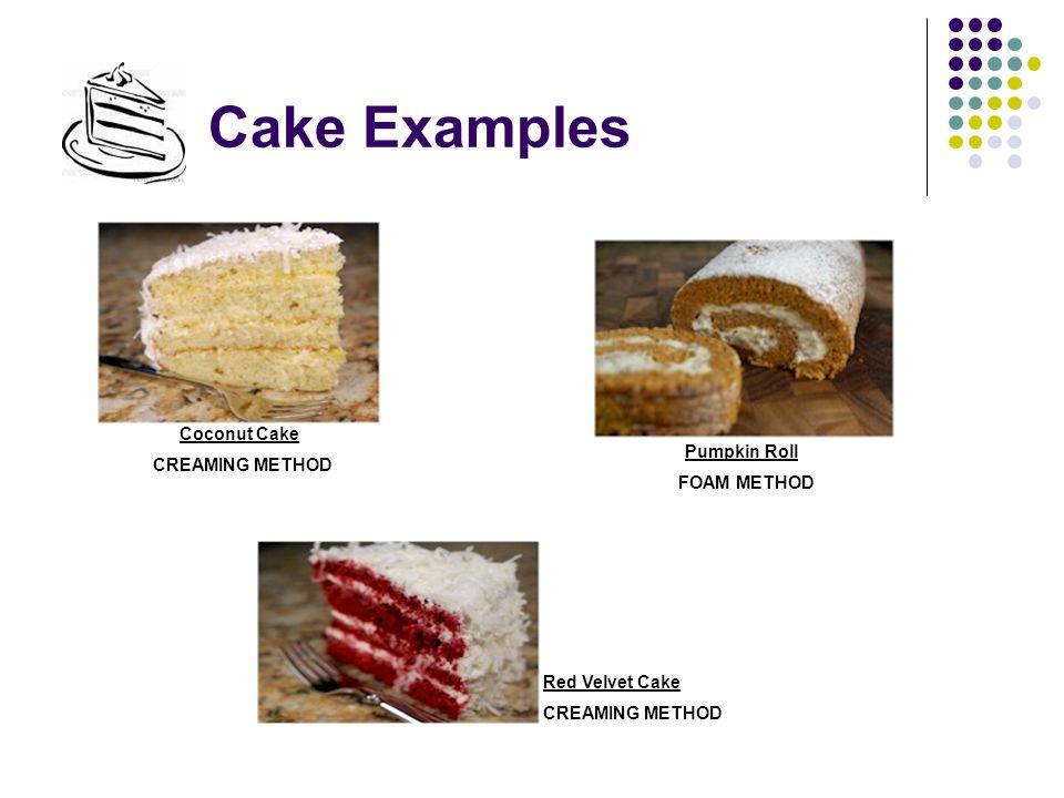 Foaming Method Cake Recipe