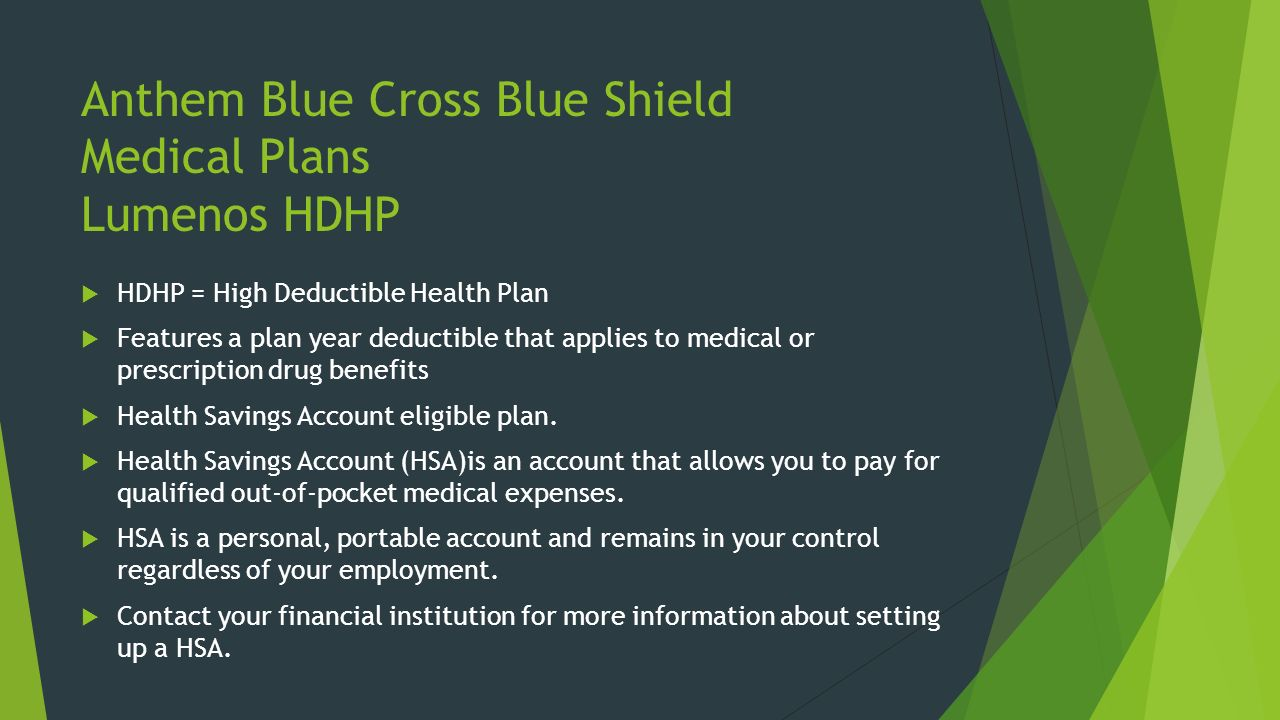 Anthem Blue Cross Emergency Room Cost