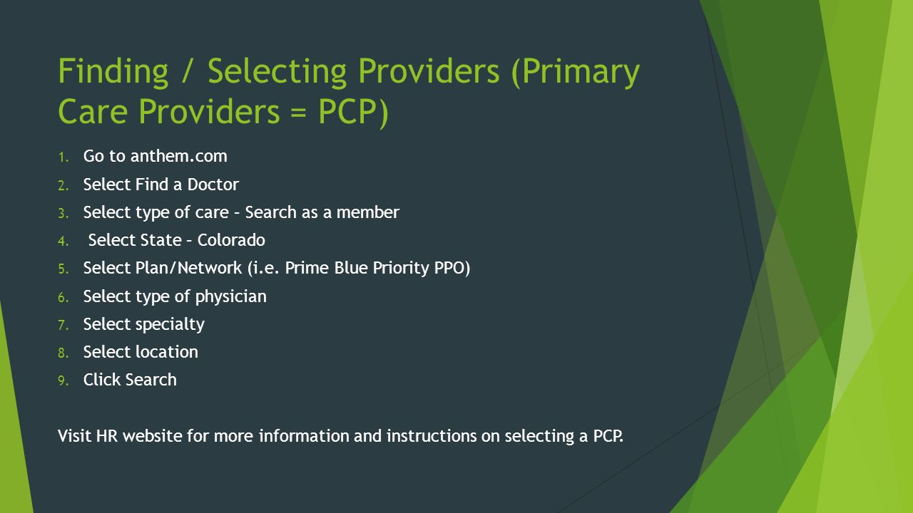 Provider Search - Find a Doctor - Highmark