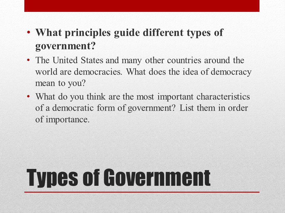 Foundations of Government - ppt video online download