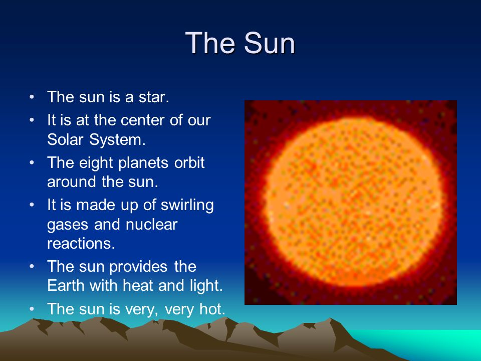 sun as center of solar system - photo #28