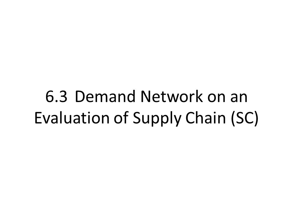 Supply Chain Management (SCM) Game