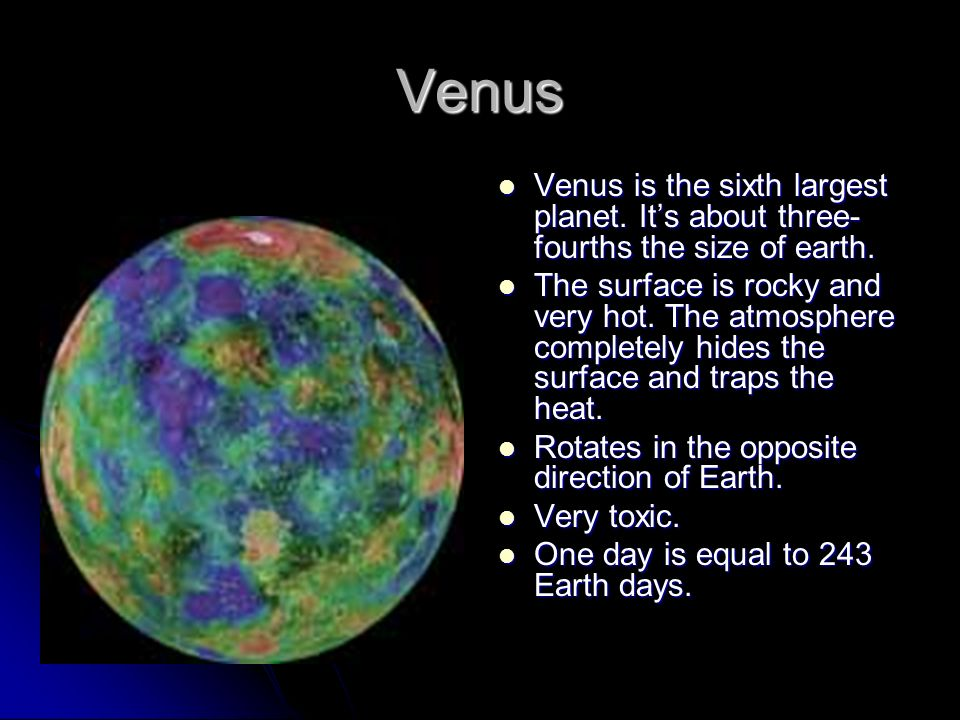 Planet Overview - Venus