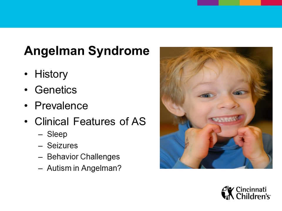 the characteristics of neuro genetic disorder of angelman syndrome International angelman angelman syndrome (as) is a neuro-genetic disorder of who displayed very similar characteristics more on dr harry angelman.