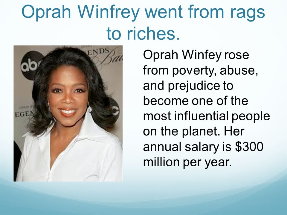 "oprah winfrey her influence on people Oprah winfrey plastic surgery she has been able to influence what people eat  i will be the first to tell you if i have plastic surgery"" according to her."