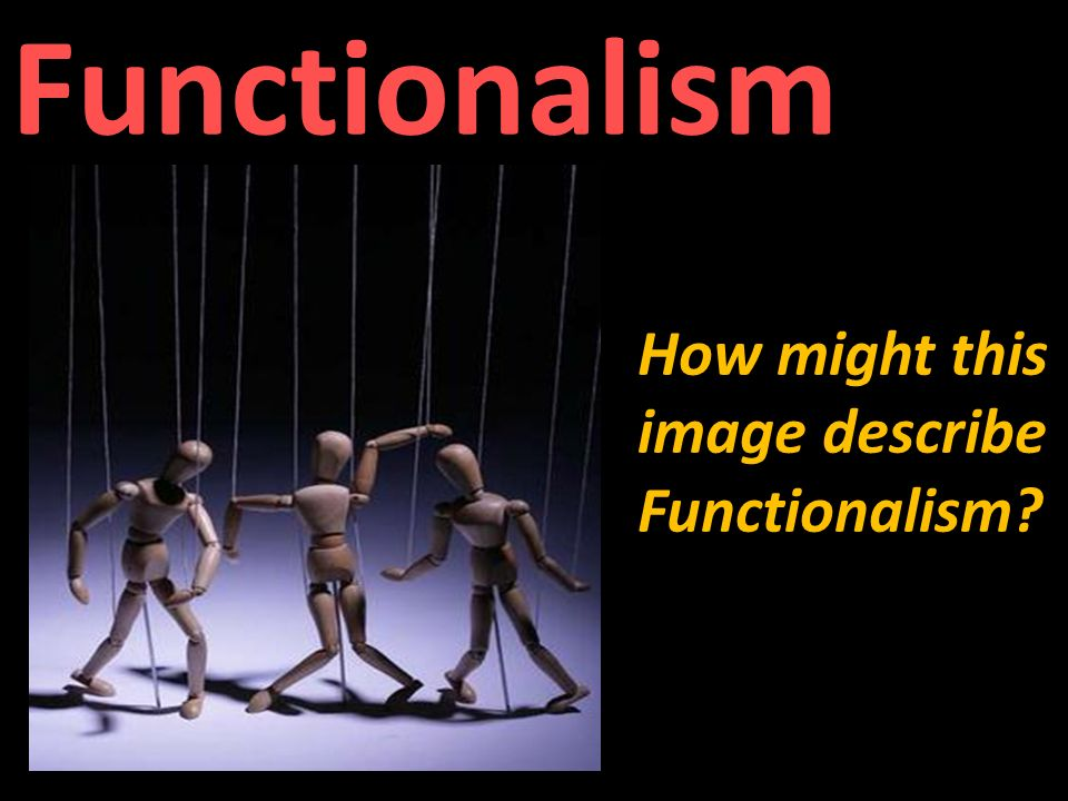 functionalism perspective on the movie crash Functionalism is a view in the theory of the mind it states that mental states (beliefs, desires, being in pain, etc) are constituted solely by their functional.