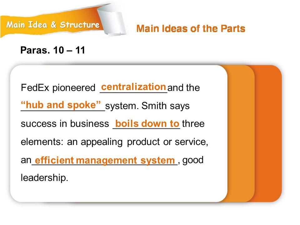 efficient management system