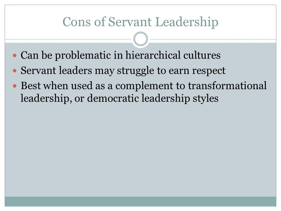 servant leadership 2 essay 2 the understanding and practice of servant-leadership - spears robert greenleaf's writings on the subject of servant-leadership helped to get this movement started, and his.