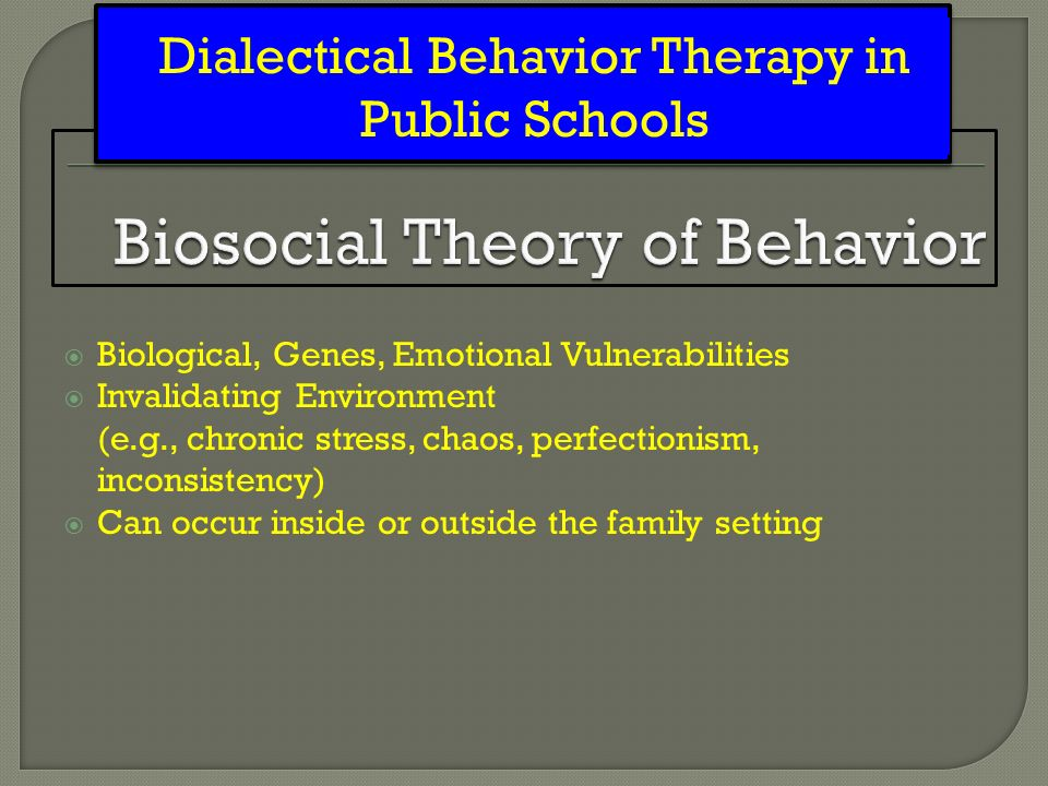 biosocial theory Emerging biosocial perspectives in the family in p g boss, w j doherty, r  larossa, w r schumm, & s k steinmetz (eds), sourcebook of family theories .