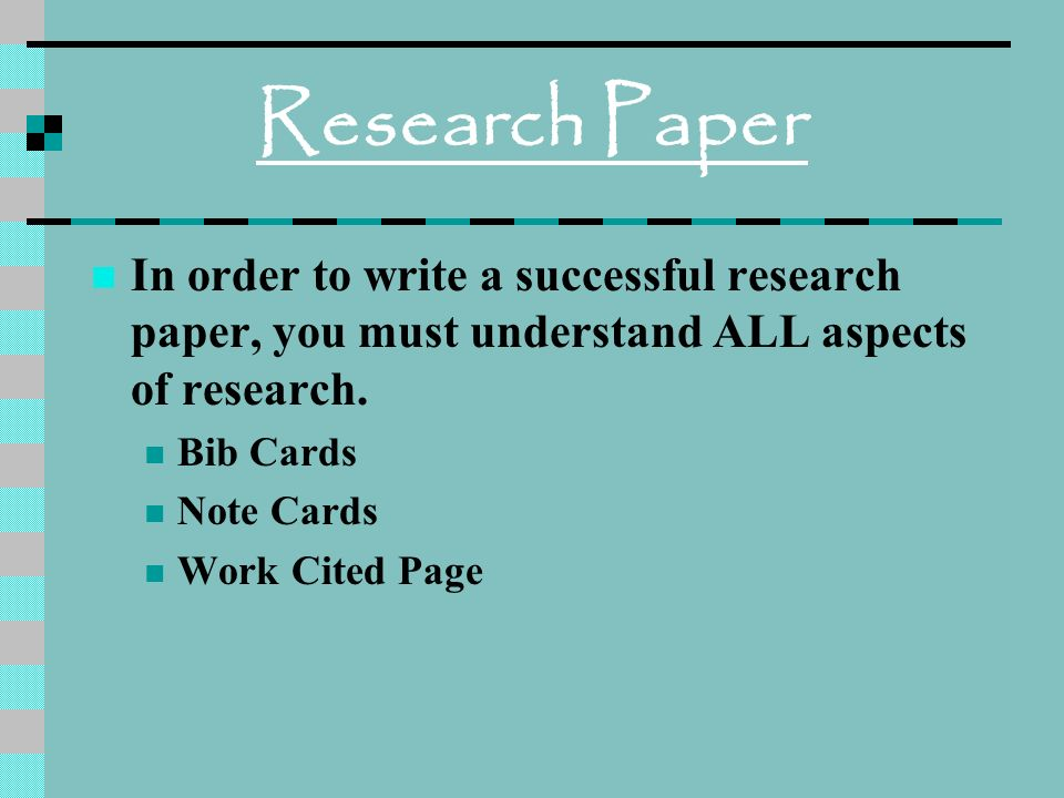 bib cards research paper View essay - research paper bib cards from english ap at united high school theme- love and for a discerning man somewhat too passionate a lover, for i like her with all her faults nay, like her.