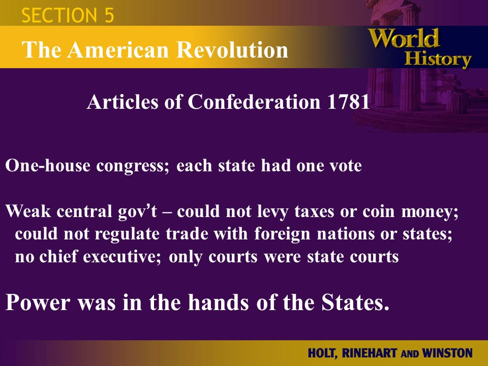 """""""from 1781 to 1789 the articles A summary of articles 1-2 in the founding fathers's the articles of  confederation (1781-1789) learn exactly what happened in this chapter, scene,  or section."""
