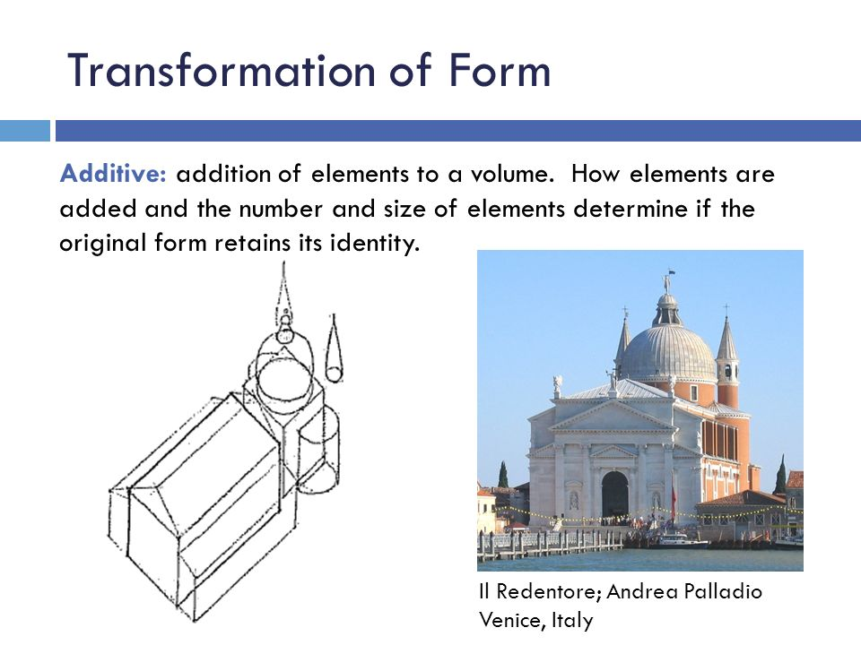Transformation of Form